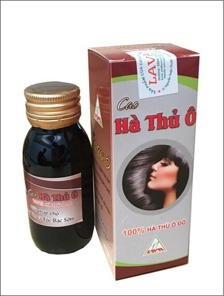 Cao Hà Thủ Ô -Tóc rụng -tóc bạc sớm